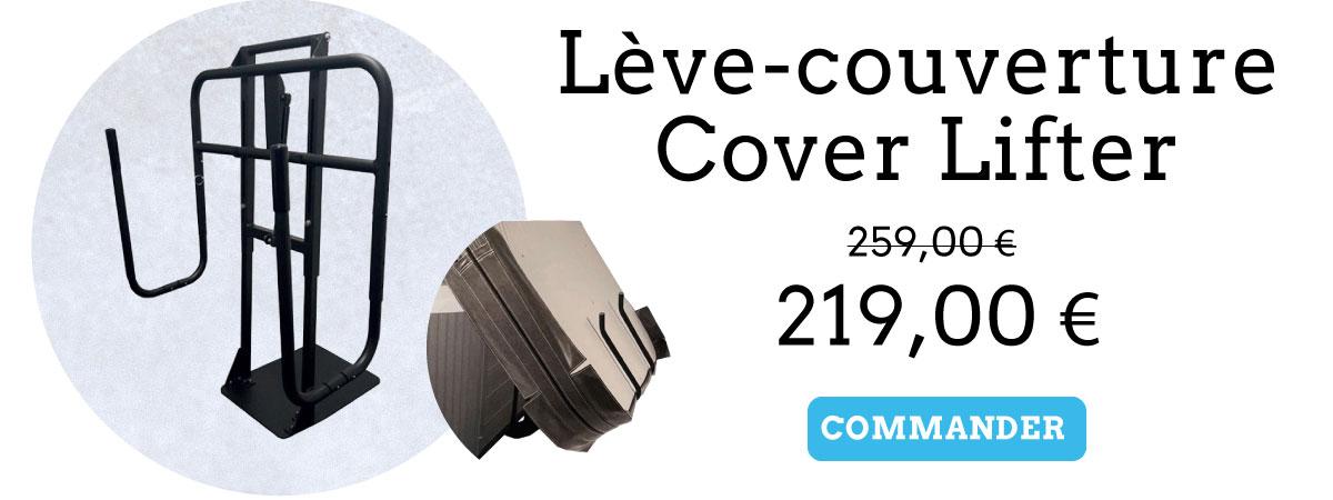 leve couverture pour spa cover lifter