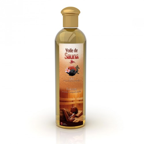 huile essentielle camylle voile pour sauna