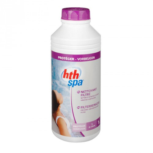 hth spa nettoyant filtre