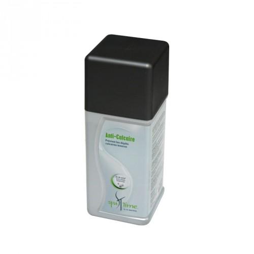boutielle d'1 litre de produit anti-calcaire pour spa, bayrol