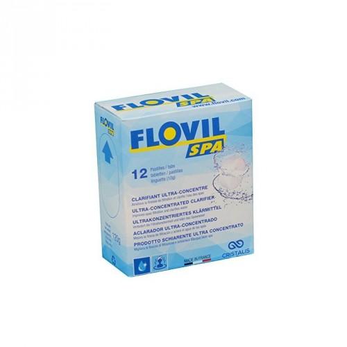 flovil clarifiant pour spa x12 pastilles