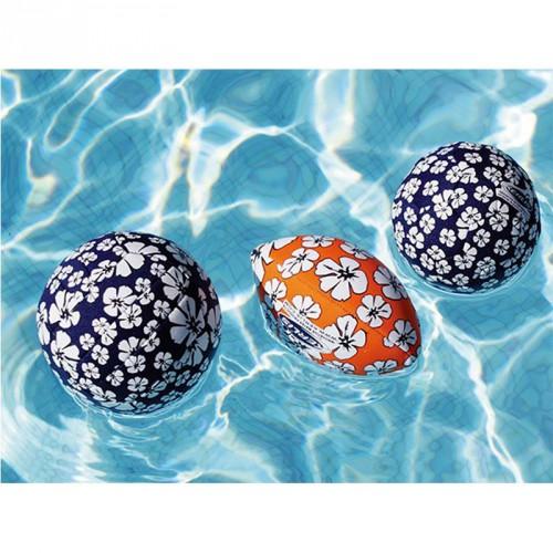 Set de 3 ballons (1 ballon de rugby + 2 mini ballons)
