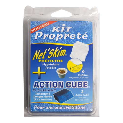 Pack Net'Skim + action cube - Toucan