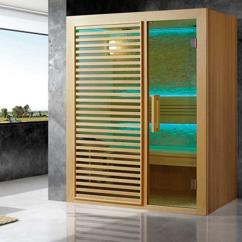 Sauna de Luxe traditionnel 2 à 3 places Intimo