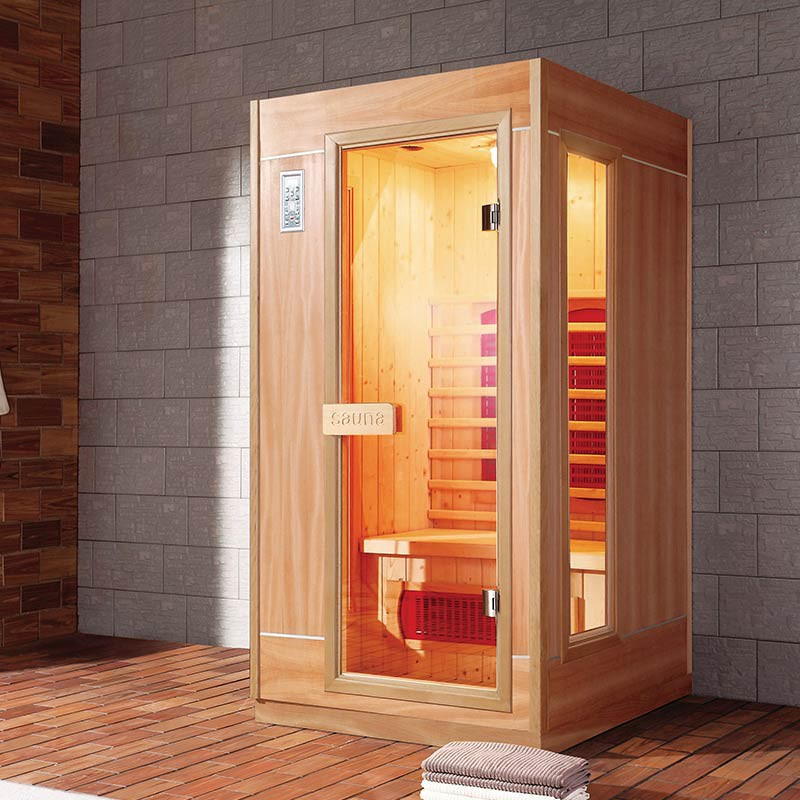 sauna infrarouge ankara 2 places. Black Bedroom Furniture Sets. Home Design Ideas