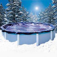 Couverture d'hiver super guard pour piscine hors sol - 4,57 x 9,14 m