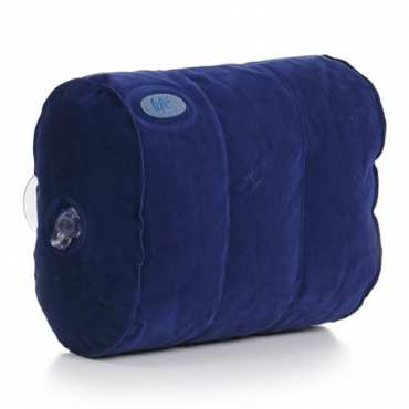 Cupped Spa Pillow - Bleu
