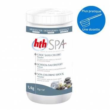 HTH Spa choc sans chlore - Poudre - 1,2kg