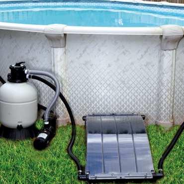 Chauffage solaire piscine hors sol - Solar Arc