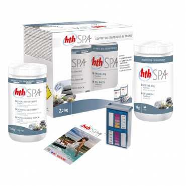 Coffret de traitement au brome compact - 2,2kg - HTH