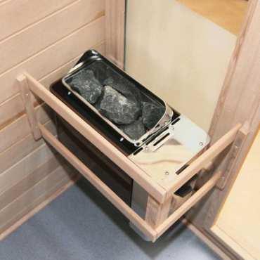 Poêle avec commande intégrée - Poêle Cup 8kw pour sauna