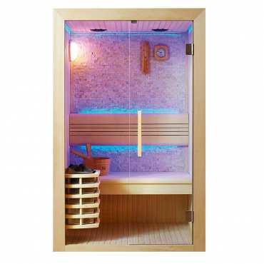 Sauna de Luxe traditionnel 2 à 3 Places Kansas