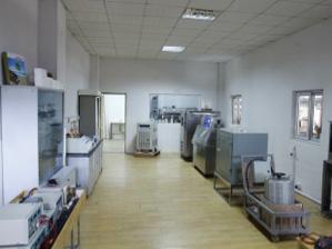 laboratoire de test des pièces bain et confort