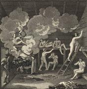 bains finlandais du 18ème siècle